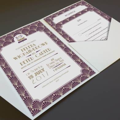 Venue_Geometric menu